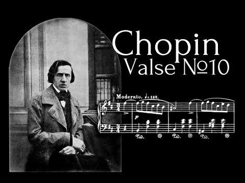 Frederic Chopin - Valse №10 in B minor Op.69 №2