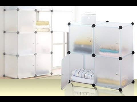 Stackable Storage Cubes  sc 1 st  YouTube & Stackable Storage Cubes - YouTube
