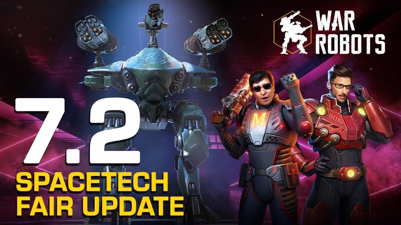 Run, Cossack! 🎆 SpaceTech Fair 🎆 | War Robots Update 7.2 Overview