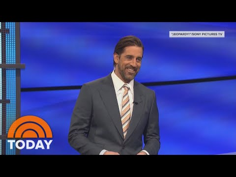 'Jeopardy!' Guest Host Aaron Rodgers Caught Off-Guard In Final Round | TODAY