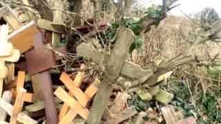 Kilmore wooden crosses, Kilmore, Co. Wexford