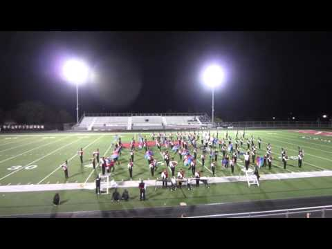 Peters Township Marching Band @ WA Band Festival Oct 10, 2015