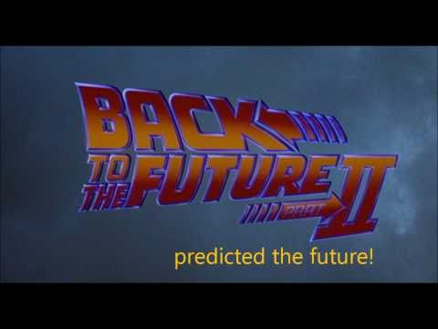 Back to the Future: Part II predicted the future!
