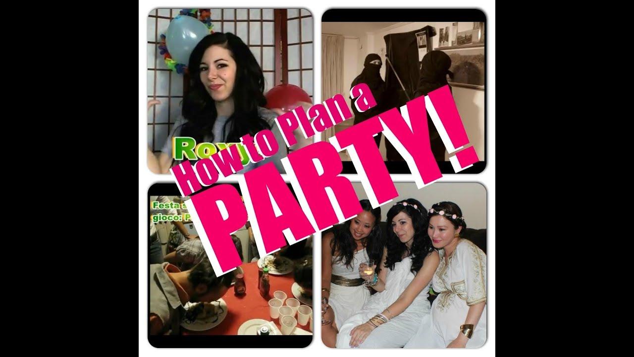 Preferenza Come organizzare una festa di successo! - YouTube BV16