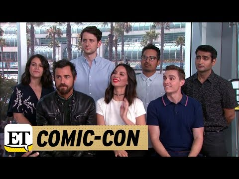 Comic Con 2017: Live With The Cast Of 'The LEGO Ninjago Movie ...