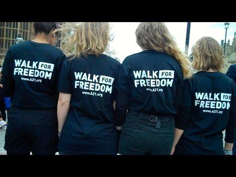Anti Slavery Day Walk for Freedom