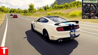 Shelby Mustang GT350R - Forza Horizon 3 Logitech g29 1080p60fps