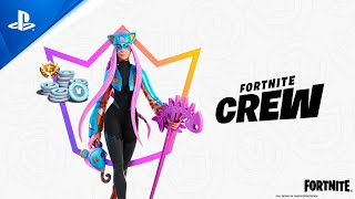 Fortnite - April Crew Pack | PS5, PS4