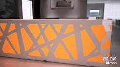 Zig Zag - Reception Desk - Mdd Office Furniture