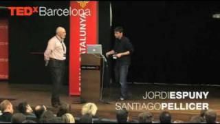 Repensar la didáctica del cuerpo humano: Santiago Pellicer and Jordi Espuny at TEDxBarcelona