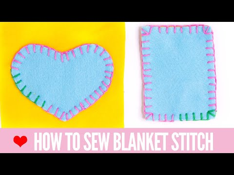 Blanket Stitch Tutorial: Easy For Beginners