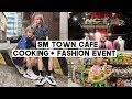 DTV.01: SM Entertainment Cafe, Cooking Vegetarian Cobb Salad, Fashion Events | Q2HAN