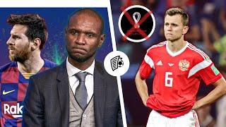 Конфликт Месси против Барселоны Сборную России отстранили от Чемпионата Мира