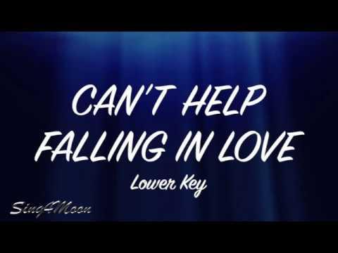Can't Help Falling In Love – Elvis Presley (Karaoke Instrumental) Lower Key