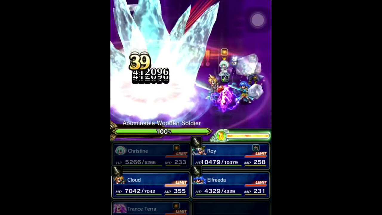 [FFBE] Christine and Trance Terra Perfect Chains