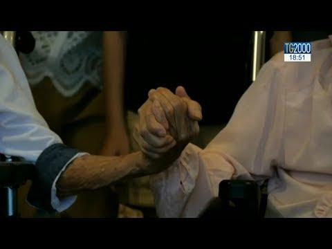 Coppia giapponese centenari e il segreto del convivere