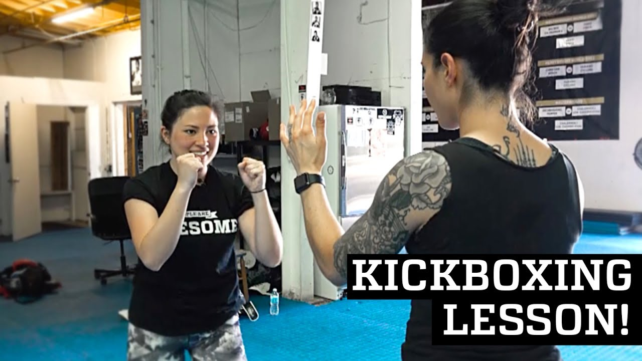 First Muay Thai Kickboxing Lesson!   Awesome Academy