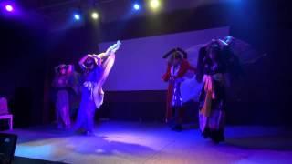 BellyDancer Liaの02Jun2012のshowでのベール を使った一曲!和風&セク...