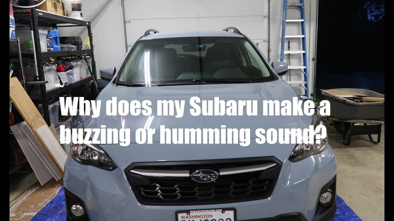Subaru Humming Noise When Off