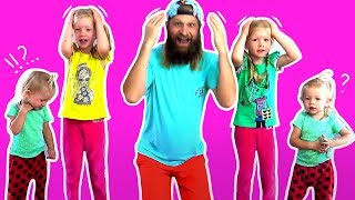 HEAD SHOULDERS KNEES & TOES Action Song for Children and Many More | Kids Learn Songs