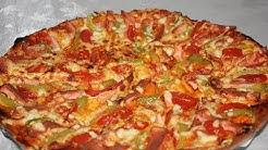 Ən Gözəl Pizza Xəmiri və Pizzanın Hazırlanması (Kolay ve Çook Lezzetli Pizza Tarifi)
