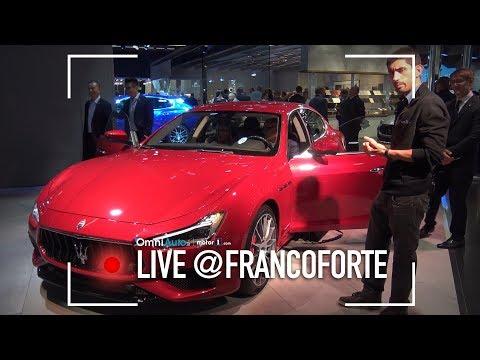 Maserati Ghibli restyling, fari full LED finalmente | Salone di Francoforte