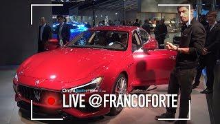 Maserati Ghibli restyling, fari full LED finalmente | Salone di Francoforte 2017