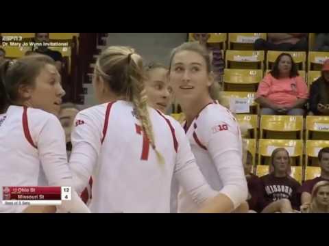 #12 Ohio State vs Missouri State Volleyball 2016