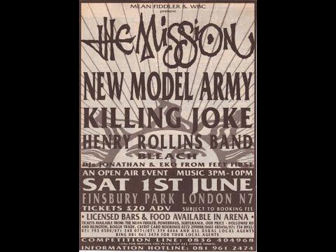 Killing Joke FINSBURY 1991