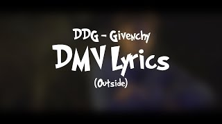 DDG - Givenchy Lyrics