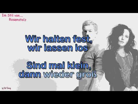 Rosenstolz -Wenn es jetzt losgeht - Instrumental