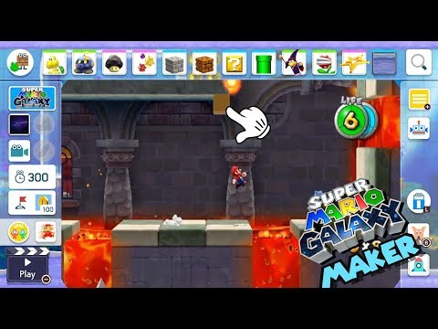 Mario Maker 2- What A Mario Galaxy Style Will Look Like!! (Concept)
