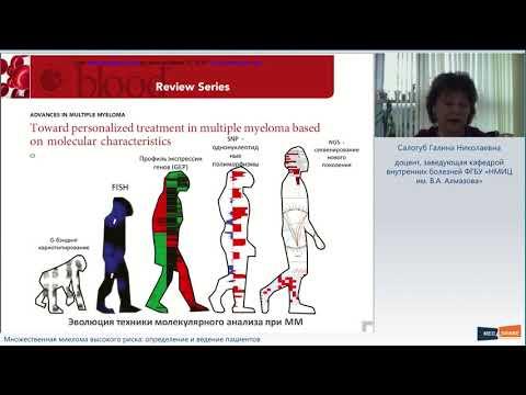 Вебинар «Множественная миелома высокого риска: определение и ведение пациентов»