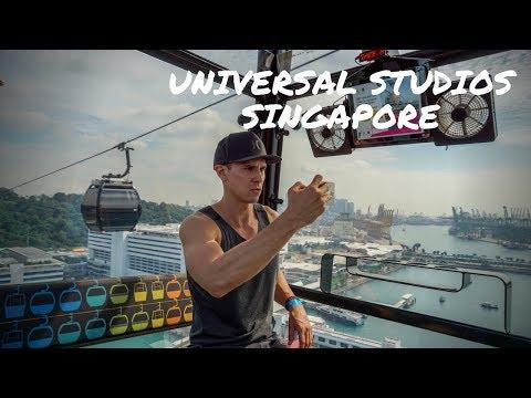 Universal Studios Singapore - Sentosa Island - Theme Park Tips - vlog