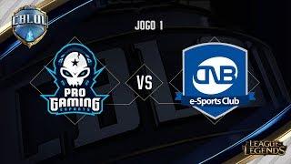 ProGaming x CNB (Jogo 1 - Semana 7 - Dia 1) - CBLoL 2017