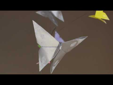 Origami Butterfly Mobile By The Timeless Crane
