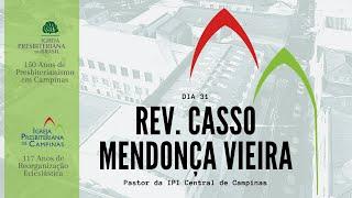 Palavra do Rev. Casso Mendonça Vieira