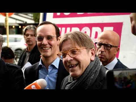 Guy Verhofstadt seeks regime change - and a change of the el