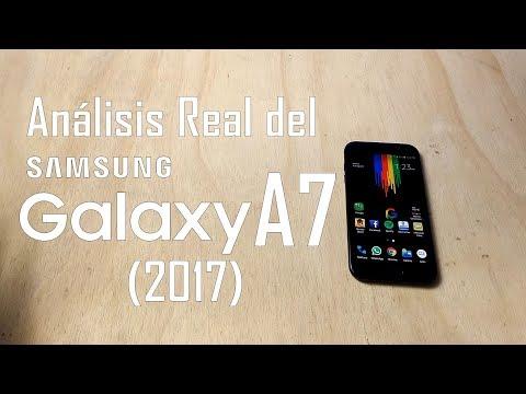 Análisis Real del Samsung Galaxy A7 2017. Un buen equipo . México!