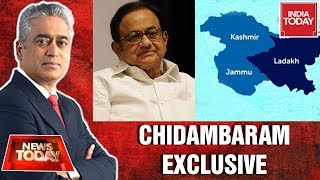 P Chidambaram Exclusive On Removal Of Article 370 & J&K Reorga…