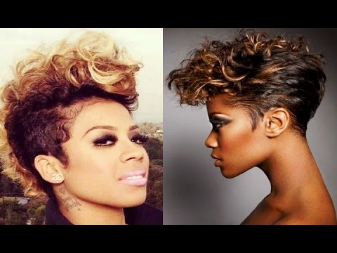 African American Black Women Best Beautiful Short Hairstyles
