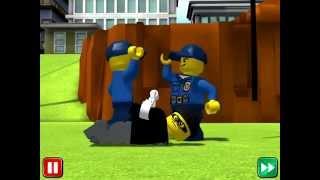Лего Сити! Lego City! My City! Задержание Преступников! Лего Полицейский! Серия 2!  Прохождение