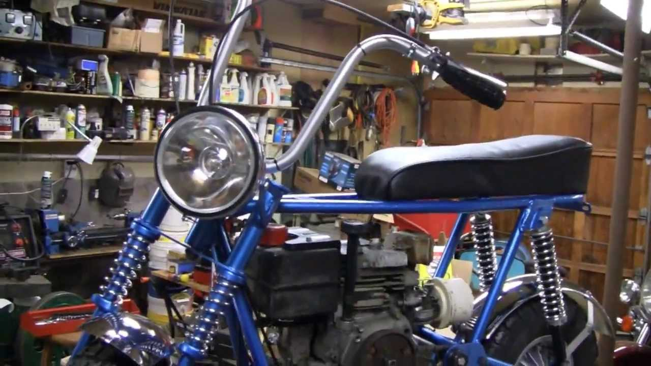 Rupp Mini Bike Restoration Part 8 Youtube