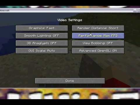 How To Make Minecraft Run Really Fast!