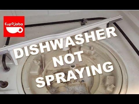 Dishwasher Circulation Pump Not Working Dishes Dry Not Spraying