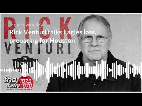 Rick Venturi Talks Eagles Loss, Preparing for Houston