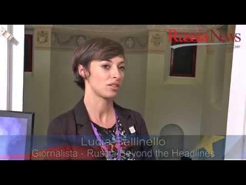 Intervista a Lucia Bellinello Giornalista - Russia Beyond the Headlines