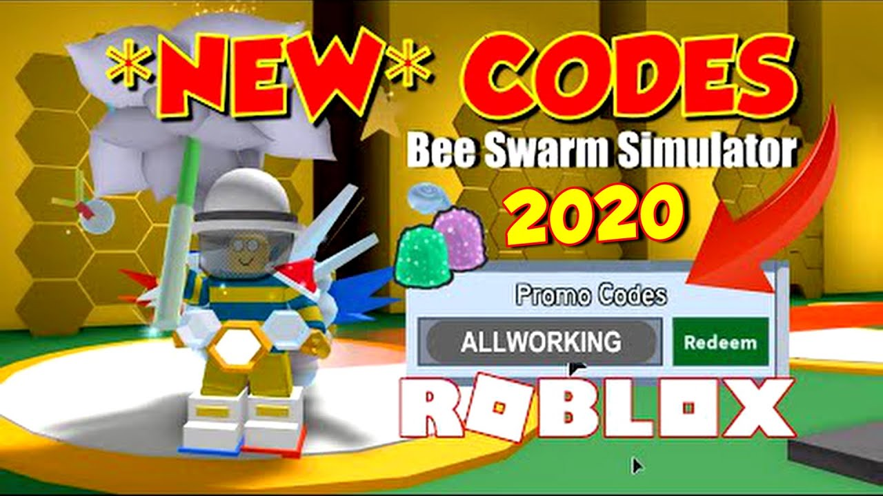 Bee Swarm Simulator Codes 2020 All Working Codes In Bee Swarm