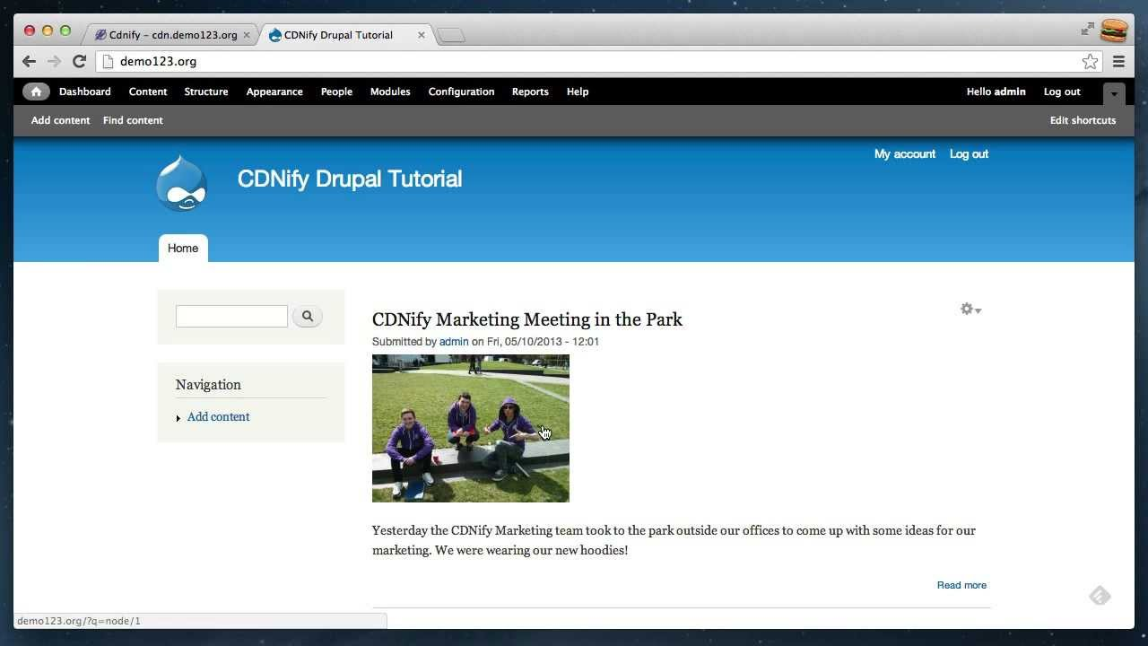 72767b0d6d7f How to set up CDN with Drupal - YouTube