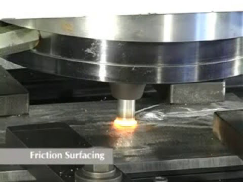 Friction Surfacing Machines for various axial loads and job sizes - ETA Technology